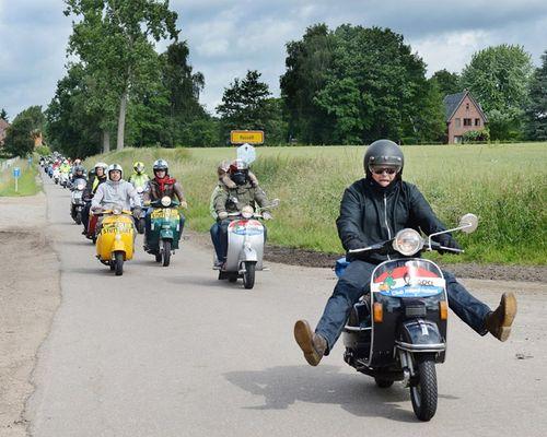 Vespa World Days - Belgien 2013
